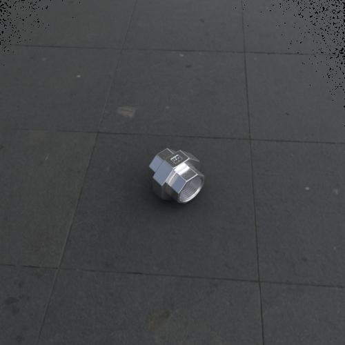 Koppeling BI/BI met vlakke teflon dichting