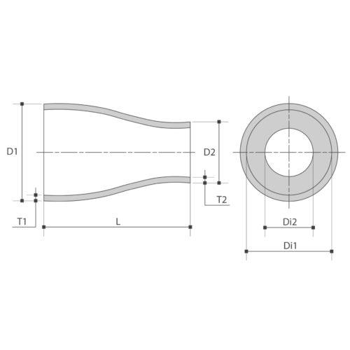 ASTM (gelast/naadloos)